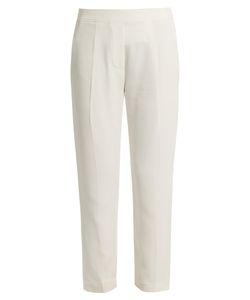 Brunello Cucinelli   Tape Crepe Trousers
