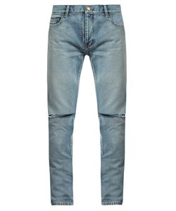 Saint Laurent | Distressed Skinny Jeans