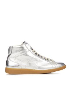 Maison Margiela | Ace Mid-Top Leather Trainers