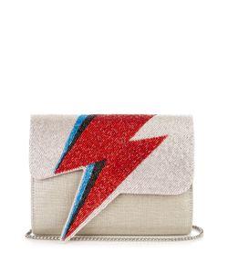 Sarah's Bag   Bowie Embellished Clutch