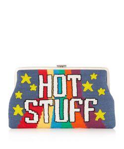 Sarah's Bag   Hot Stuff Embellished Clutch
