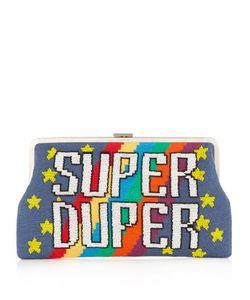 Sarah's Bag   Super Duper Embellished Clutch