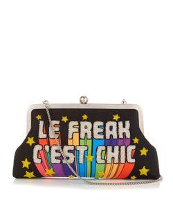 Sarah's Bag   Le Freak Cest Chic Embellished Clutch