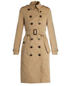 Burberry | Sandringham Long-Length Gabardine Trench Coat