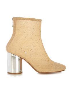 Maison Margiela | Glitter-Embellished Ankle Boots