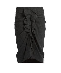 Isabel Marant Etoile | Jorga Prince Of Wales-Checked Linen Skirt