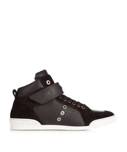 Jimmy Choo | Lewis High-Top Leather Trainers
