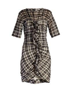 Isabel Marant Etoile | Wallace Checked Mini Dress