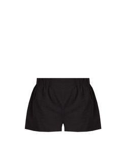 CASA NATA | Elasticated Cotton-Gauze Shorts