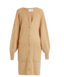 Ryan Roche | Patch-Pocket Mohair And Silk-Blend Cardigan