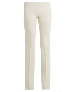 Ryan Roche | Mid-Rise Flared Cashmere-Blend Trousers