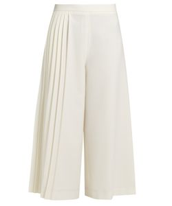 Osman | Madison Half-Pleated Wool-Twill Trousers