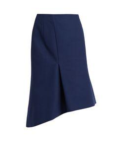 Balenciaga | Asymmetric Cotton Skirt