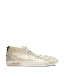 Golden Goose Deluxe Brand | Mid Star Mid-Top Suede Trainers