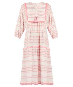 Zimmermann | Valour Striped Cotton-Blend Dress