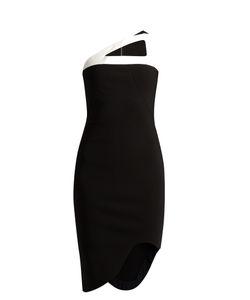 Mugler   Milano Stretch-Crepe Dress