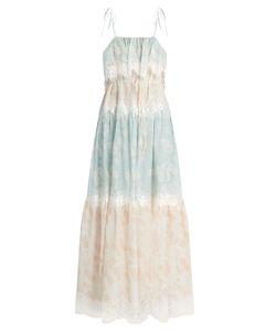 Athena Procopiou | A Bohemian Romance Cotton-Blend Dress