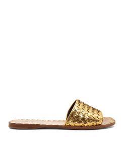 BOTTEGA VENETA | Intrecciato Leather Slides