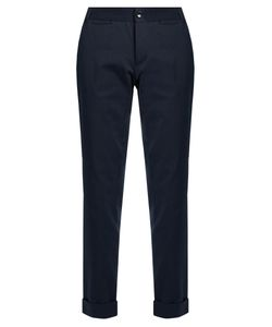 A.P.C. | Adele Pinstriped Cotton-Blend Trousers