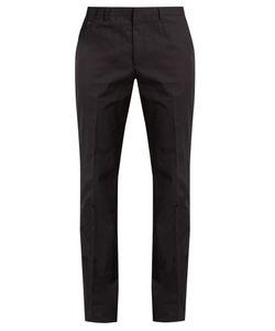 Stella McCartney   Slim-Fit Cotton-Gabardine Chino Trousers