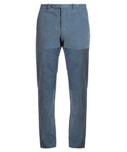 HELBERS   Needlecord-Cotton Chino Trousers