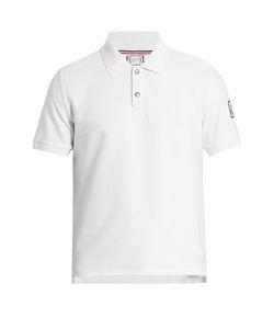 Moncler Gamme Bleu | Ribbed-Cotton Polo Shirt