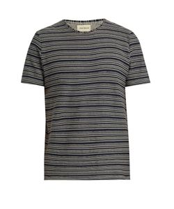 Oliver Spencer | Conduit Multi-Striped Cotton-Jersey T-Shirt