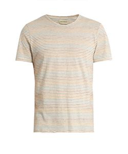 Oliver Spencer | Conduit Pinstriped Cotton-Jersey T-Shirt