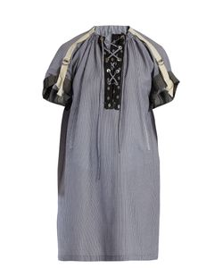 J.W.Anderson | Lace-Up Striped Tunic