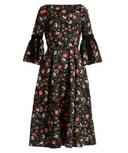 Erdem | Aleenaprint Matelassé Dress