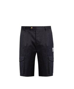 Moncler Gamme Bleu | Cotton-Gabardine Shorts