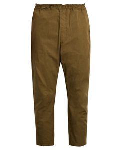 Oamc | Cropped Cotton Trousers