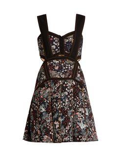 Self-Portrait | -Jacquard Mini Dress