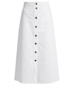 M.i.h Jeans | Bell A-Line Denim Midi Skirt
