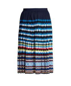 Mary Katrantzou | Aura Eirene-Jacquard Pleated Skirt