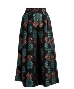 House Of Holland | Pineapple-Jacquard Culottes