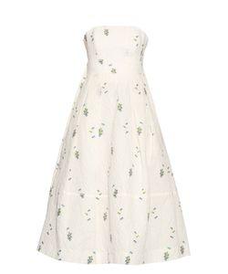 Erdem   Alinajacquard Cotton-Blend Dress