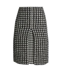 Sonia Rykiel | Checked-Tweed A-Line Skirt