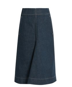 Lemaire | A-Line Denim Skirt