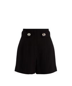 Proenza Schouler | High-Rise Twist-Lock Cady Shorts