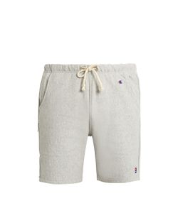 Champion x Beams | Logo-Printed Cotton-Blend Shorts