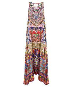 Camilla | Dream Weavers-Print Silk Crepe De Chine Dress