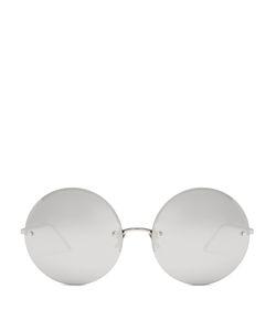 Linda Farrow | Oversized Round Sunglasses