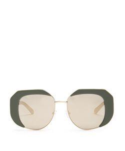 Karen Walker Eyewear | Domingo Butterfly-Frame Sunglasses