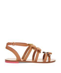 Sophia Webster | Samara Leather Flat Sandals