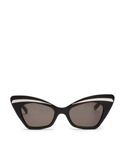 Karen Walker Eyewear | Babou Shrunken Cat-Eye Sunglasses