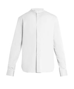 Lemaire   Stand-Collar Stretch-Cotton Shirt