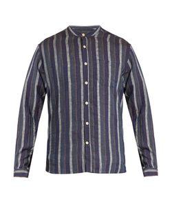 Oliver Spencer | Grandad-Collar Linen Shirt