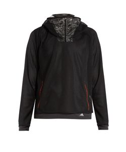 adidas x Kolor | Mesh And Foil Hooded Top