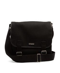 Saint Laurent | Canvas And Leather Messenger Bag